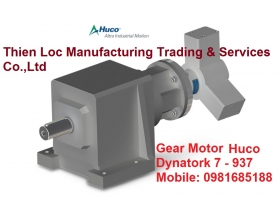 Hộp số Huco Helical Gearboxes Dynatork 7 - 937