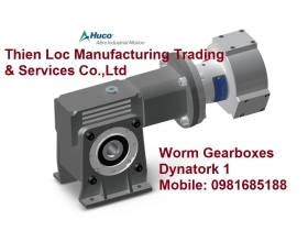Bộ truyền trục vít Huco Worm Gearboxes Dynatork 1